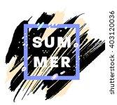 summer watercolor design....   Shutterstock .eps vector #403120036