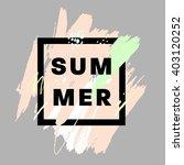 summer watercolor design....   Shutterstock .eps vector #403120252