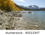 Autumn View Of The Shoreline O...