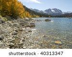 Autumn View Of The Shoreline O...