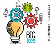 big idea design  | Shutterstock .eps vector #403151815
