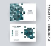 business cards design.  vector... | Shutterstock .eps vector #403154812