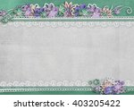 textured background with border ... | Shutterstock . vector #403205422