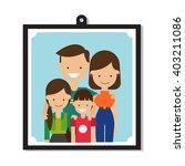 family   vector illustration    Shutterstock .eps vector #403211086