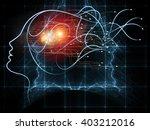 human tangents series. design... | Shutterstock . vector #403212016