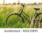 Vintage Old Bicycle On...