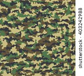 seamless camouflage military...   Shutterstock .eps vector #403242988