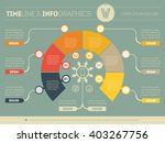 business concept of infographic ... | Shutterstock .eps vector #403267756