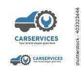 car service garage logo  shop... | Shutterstock .eps vector #403323646