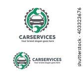 car service garage logo  shop... | Shutterstock .eps vector #403323676
