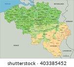 high detailed belgium physical... | Shutterstock .eps vector #403385452