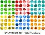 mega pack of 96 in 1 natural... | Shutterstock . vector #403406632