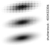 abstract  halftone effect... | Shutterstock .eps vector #403432306