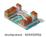 vector isometric icon or... | Shutterstock .eps vector #403450906