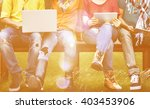 digital device connection... | Shutterstock . vector #403453906
