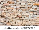 background of stone wall texture | Shutterstock . vector #403497922