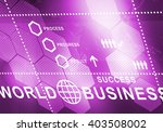 abstract business digital... | Shutterstock . vector #403508002