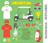 golf club  golf | Shutterstock .eps vector #403510882