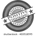 positive thinking pencil effect | Shutterstock .eps vector #403518595