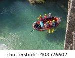 Rafting Boat In Voidomatis...