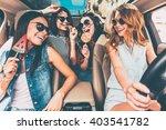 great start of their journey.... | Shutterstock . vector #403541782