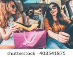 next stop is lingerie shop ... | Shutterstock . vector #403541875
