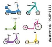 roller scooter set. balance...