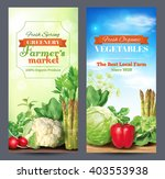 two vertical banners for... | Shutterstock .eps vector #403553938