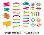 a set of new and original of... | Shutterstock .eps vector #403563475