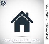 house  icon   Shutterstock .eps vector #403577746