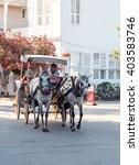 istanbul   jule 11  a phaeton... | Shutterstock . vector #403583746