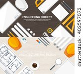 engineering and architecture... | Shutterstock .eps vector #403597072