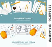engineering and architecture... | Shutterstock .eps vector #403599886
