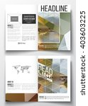 set of business templates for... | Shutterstock .eps vector #403603225