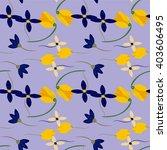 light floral background in... | Shutterstock .eps vector #403606495