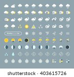 huge pack of weather icons....