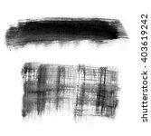 black abstract watercolor macro ... | Shutterstock . vector #403619242