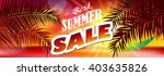 sale. summer. | Shutterstock .eps vector #403635826
