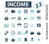 income icons  | Shutterstock .eps vector #403642642