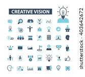 creative vision icons  | Shutterstock .eps vector #403642672