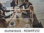banner blank advertisement... | Shutterstock . vector #403649152