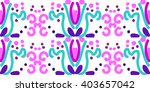 ornamental pattern. traditional ... | Shutterstock .eps vector #403657042