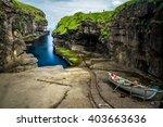 gjogv faroe islands   Shutterstock . vector #403663636