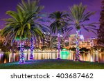 orlando  florida  usa downtown... | Shutterstock . vector #403687462