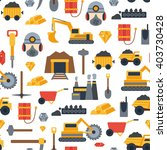 vector background with mining... | Shutterstock .eps vector #403730428