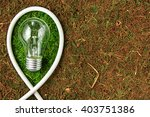 green energy. concept ecology.... | Shutterstock . vector #403751386