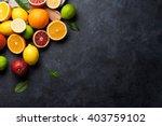 Fresh Ripe Citruses. Lemons ...