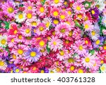 Stock photo bright flowers background 403761328