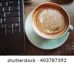 coffee work | Shutterstock . vector #403787392