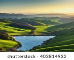 warm and sunny days in the... | Shutterstock . vector #403814932